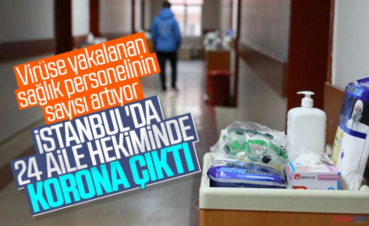 İstanbul'dan üzen haber! 24 aile hekimi ile hemşirenin testleri pozitif çıktı