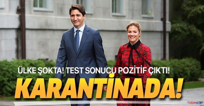 Kanada Başbakanı'nın eşinin koronavirüs testleri pozitif çıktı