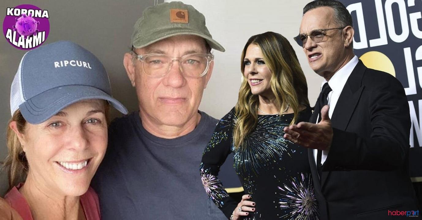 Karantinaya alınan Tom Hanks ve eşi Rita Wilson'dan ilk paylaşım