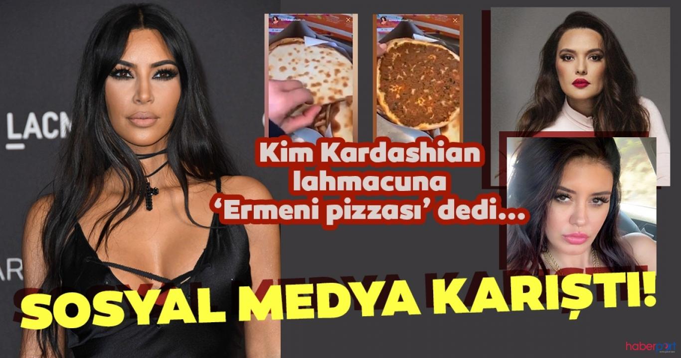 Lahmacun tartışması büyüdü! Kim Kardashian'a Demet Akalın ve Ebru Polat tepki gösterdi