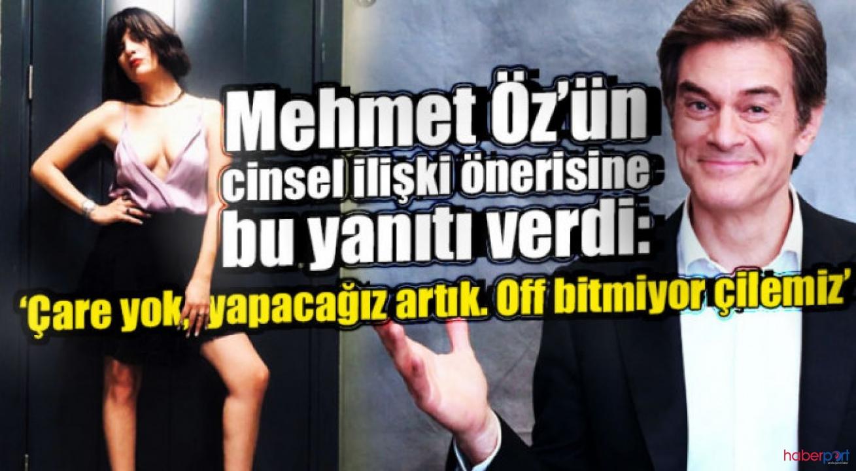 Mehmet Öz'ün tavsiyesine Gonca Vuslateri'den cevap