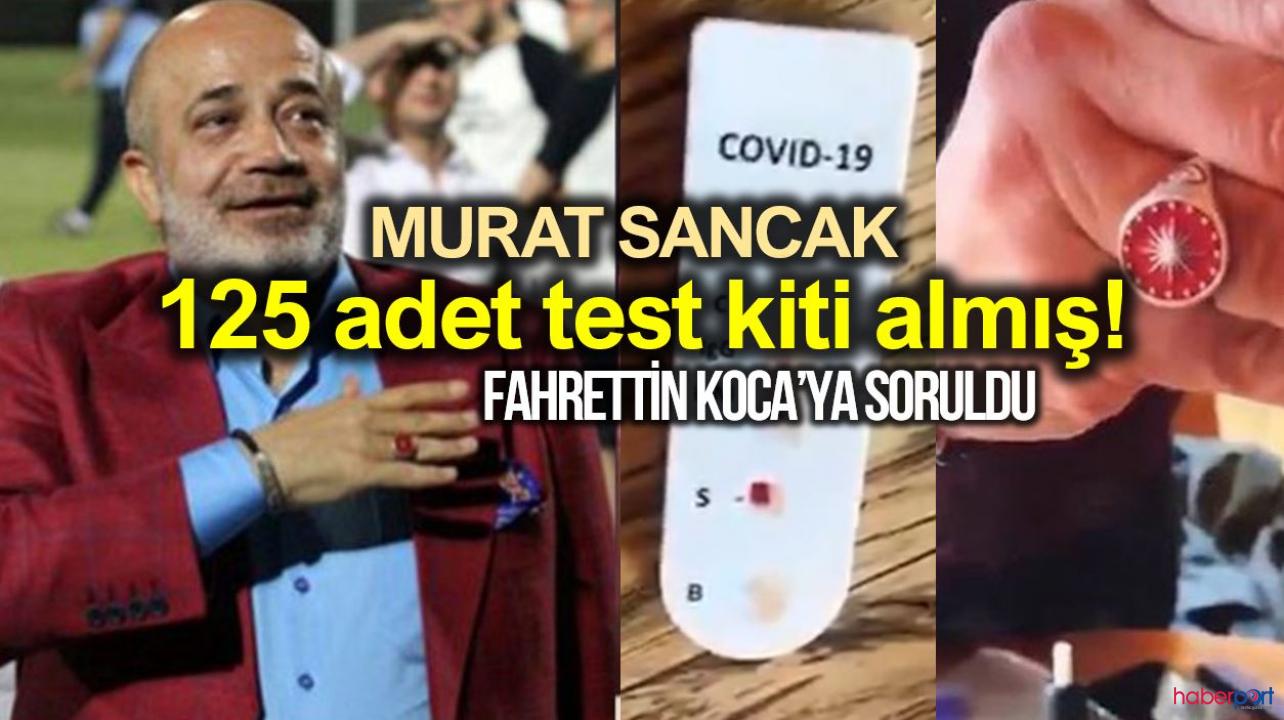 Murat Sancak kimdir? Tanı kitlerini nerden aldı? Tanı kitleri almak yasal mı?