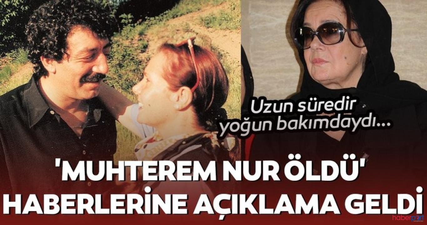 Müslüm Gürses'in hayat arkadaşı Muhterem Nur, yaşamını yitirdi