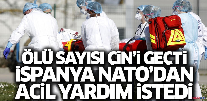 Ölü sayısı 3 bin 434'e çıkan İspanya'dan NATO'ya acil yardım talebi