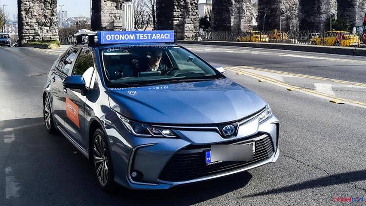 Otonom araç İstanbul'da yollarda!