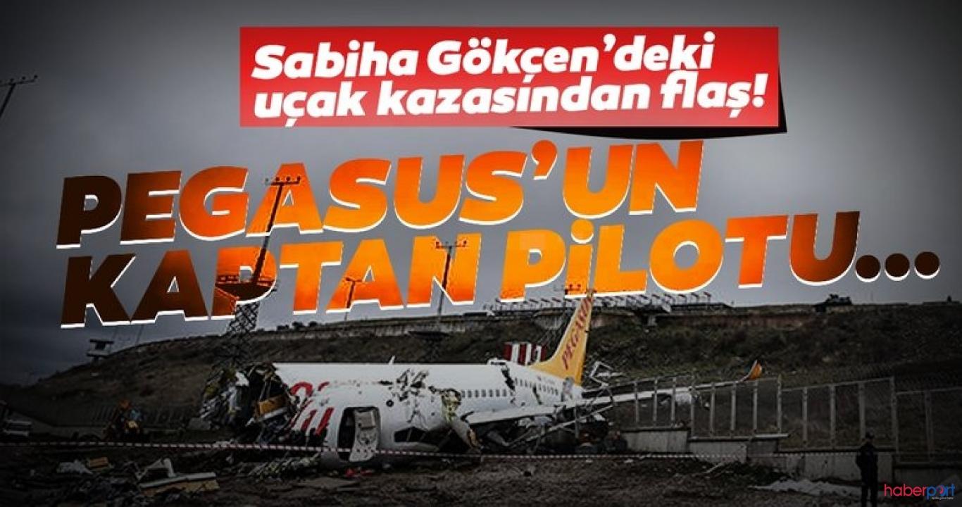 Pagasus uçağının pilotu hakkında yeni gelişme! Avukatın itirazı reddildi