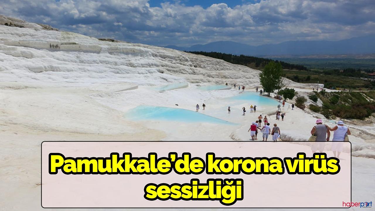 Pamukkale'ye korona virüs darbesi! Beyaz cennet pamukkale ziyarete kapatıldı