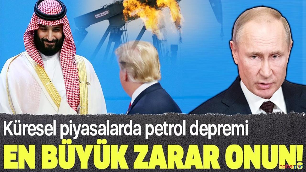Petrol'den Suudi Arabistan, Rusya ve ABD'ye sert darbe!