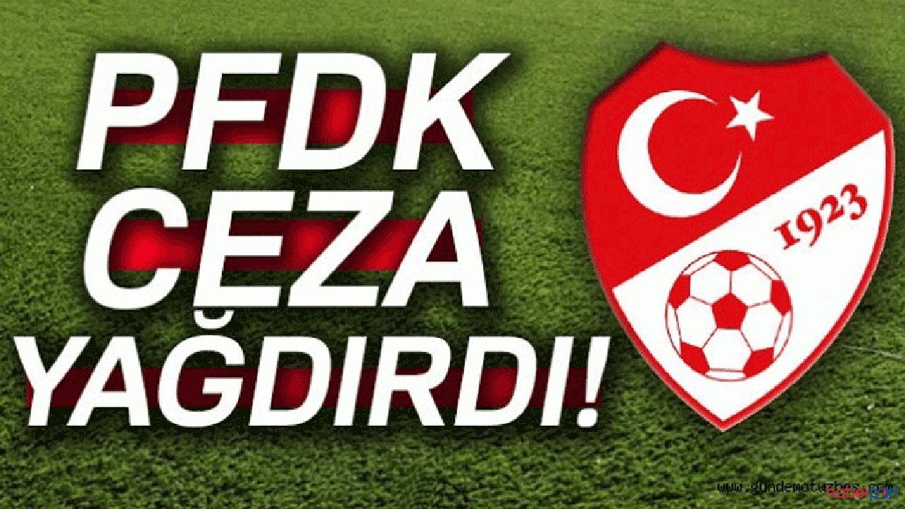 PFDK kulüplere acımadı! 10 Süper lig kulübüne cezayı kesti!