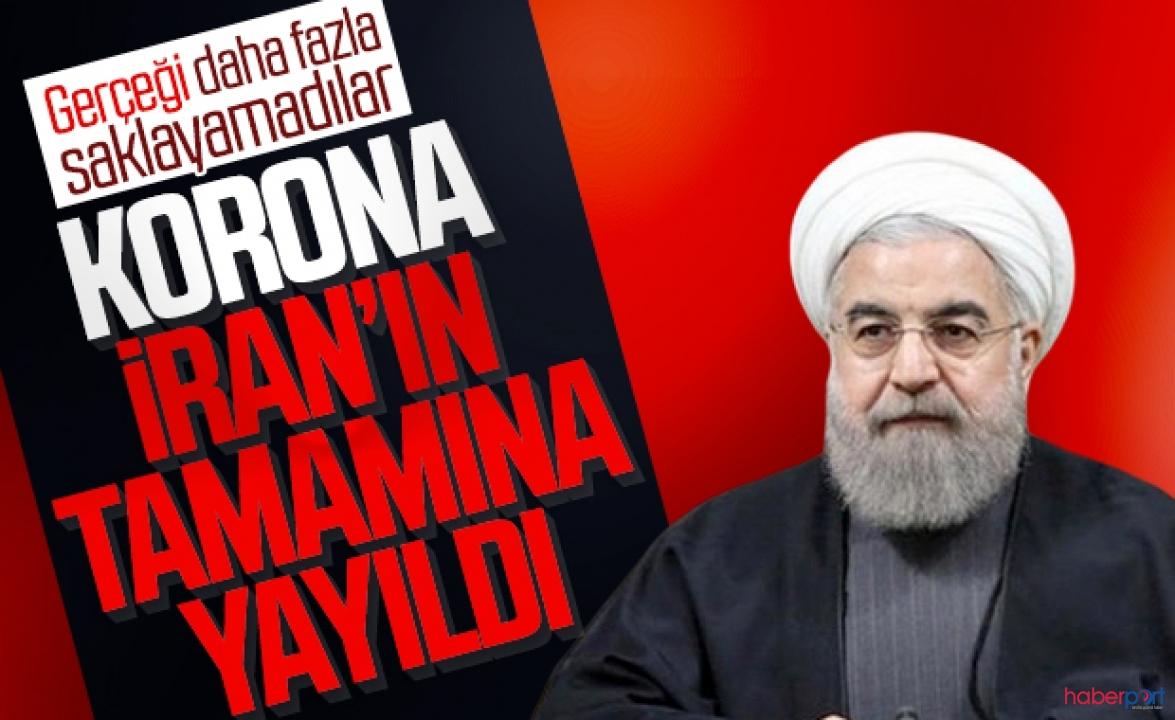 Ruhanni, İran'da koronavirüs'ün tüm eyaletlere yayıldığını açıkladı