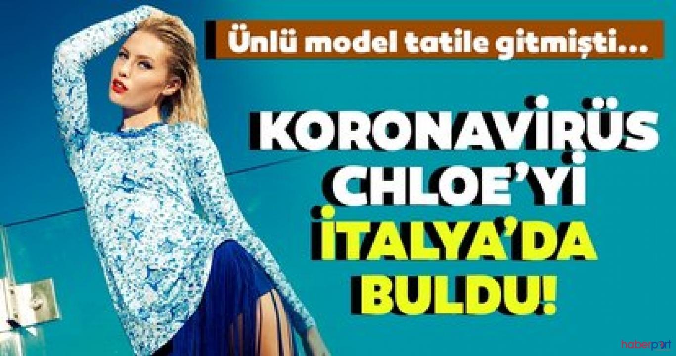 Salgın Chloe Loughnan'ı İtalya'da vurdu!