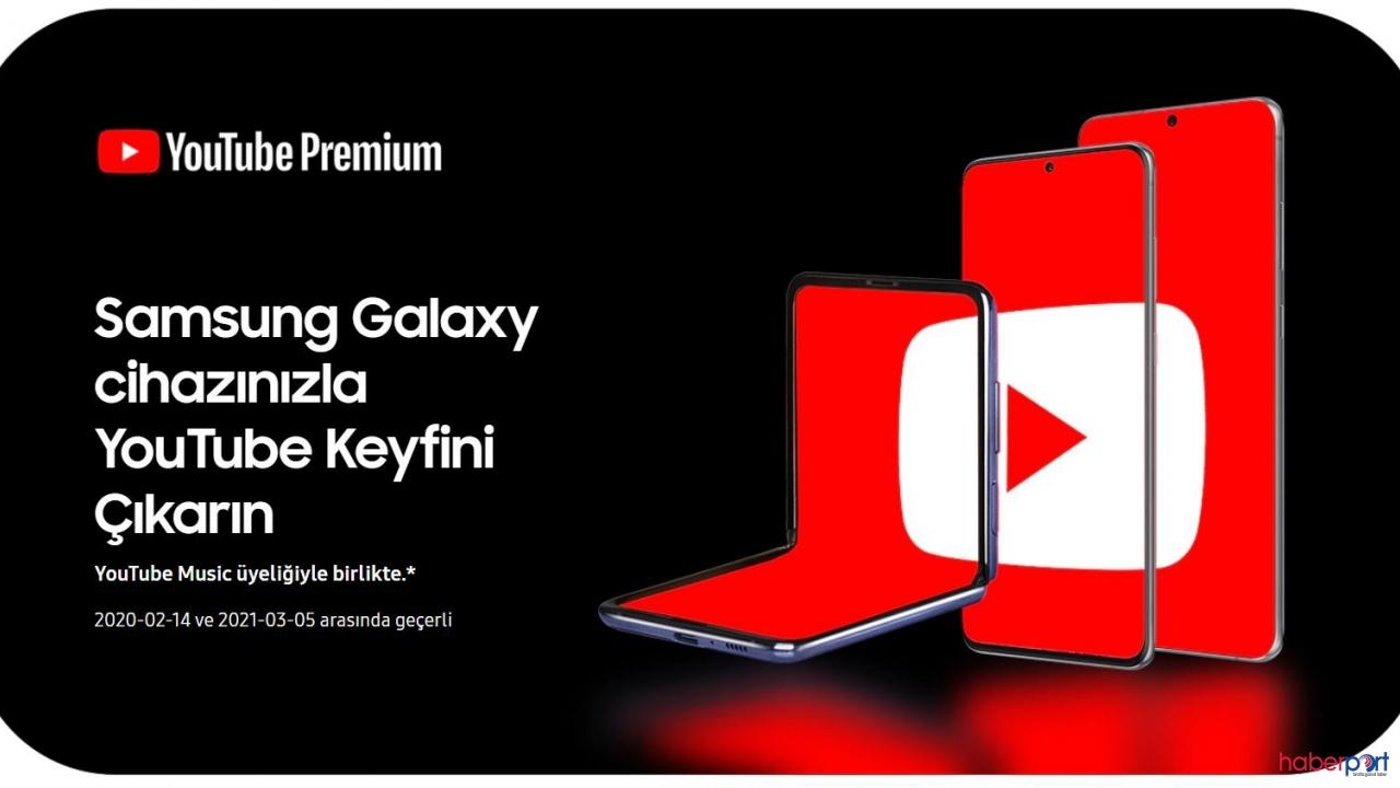 Samsung'dan kullanıcılarına 'ücretsiz' Youtube Premium müjdesi!