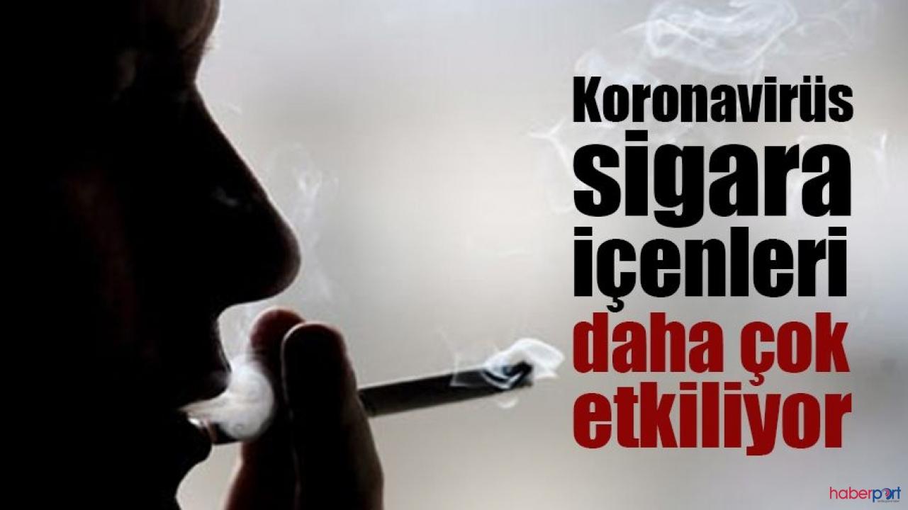 Sigara kullananlar dikkat! Koronavirüsü daha çok etkiliyor