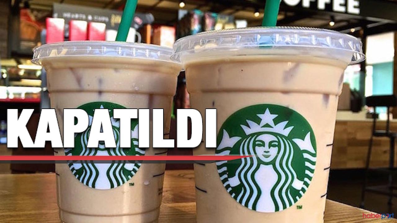 Starbucks'tan koronavirüs kararı; Türkiye'deki tüm şubeler kapatıldı