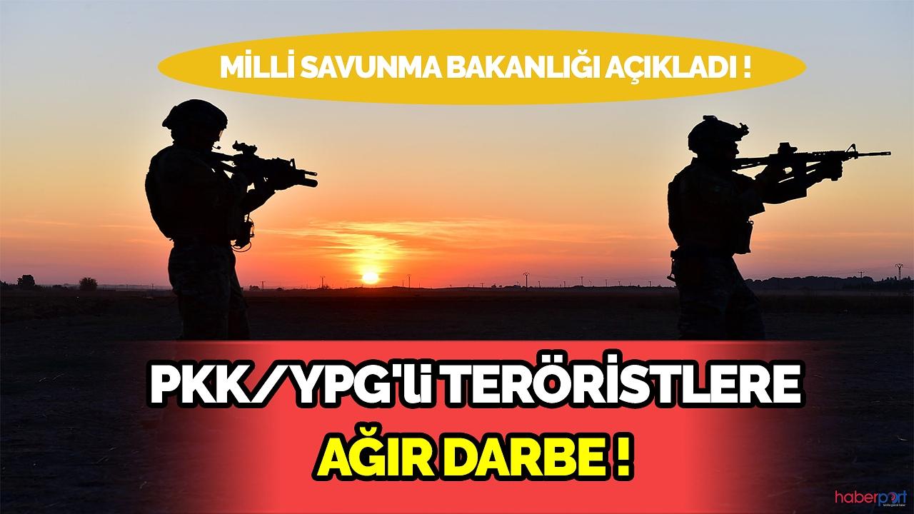Suriye de saldırı hazırlığındaki PKK/YPG'li teröristlere misilleme!