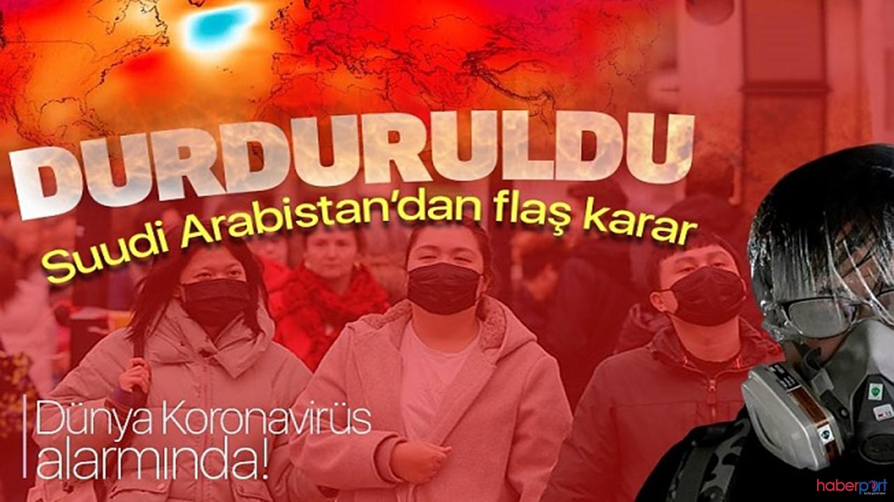 Suudi Arabistan'dan Kovid-19'a karşı bir önlem daha! Ölüm vakaları artıyor