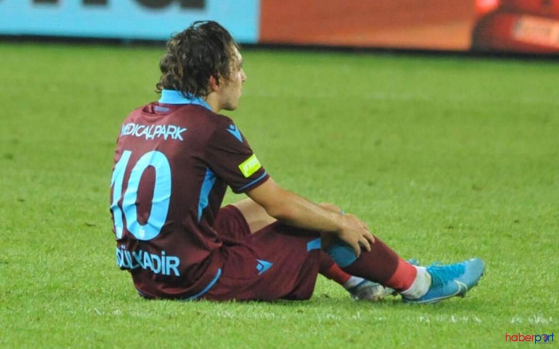 Trabzonspor'un genç yıldızı sakatlandı