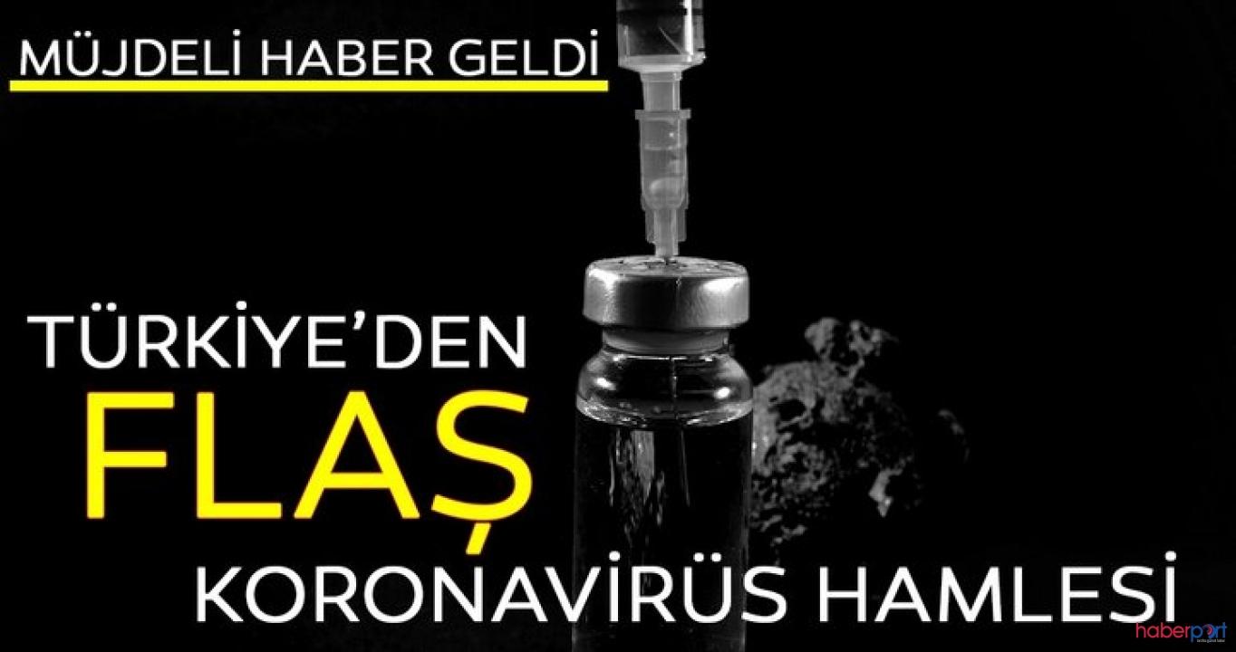 Türkiye'den koronavirüs hamlesi! Aşı için klinik çalışmalar başlıyor