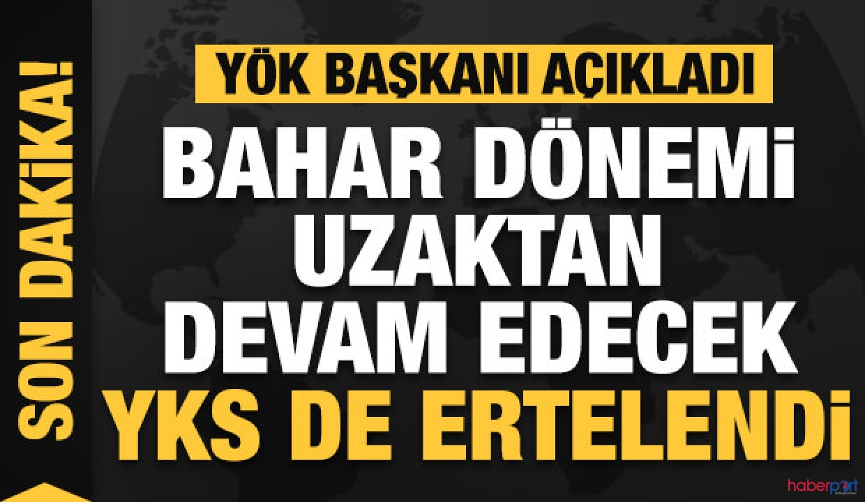 YKS ertelendi! Sınavlar 25-26 Temmuz tarihinde yapılacak
