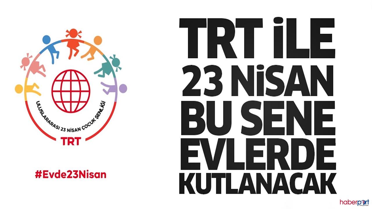 23 Nisan kutlamaları bu sene TRT ekranlarında