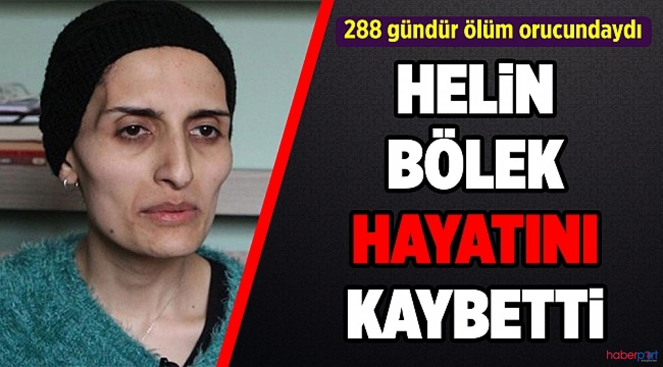 288 gündür ölüm orucu direnişindeydi! Grup Yorum üyesi Helin Bölek yaşama veda etti