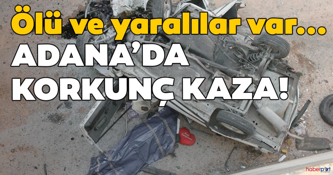 Adana'daki trafik kazasında anne-kız birlikte can verdi