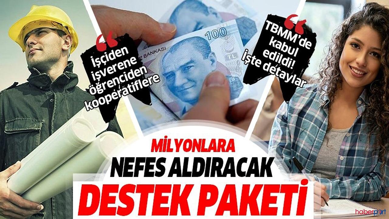 AK partinin korona'ya yeni ekonomik paketi TBMM'den geçti