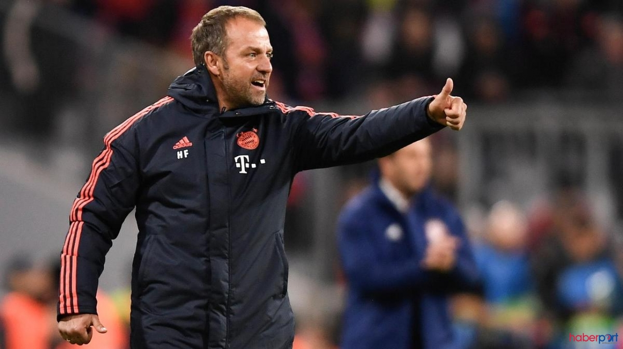 Bayern Münih'te son dakika ''Hansi Flick sözleşmesini uzattı''