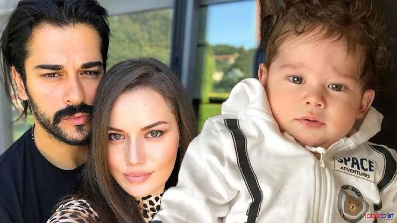 Burak Özçivit oğlunun fotoğrafını ilk kez paylaştı; Rekor beğeni!