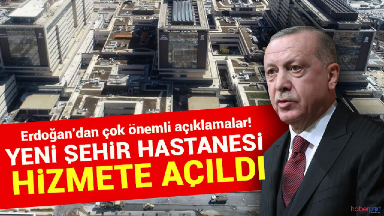 Cumhurbaşkanı Erdoğan 'hayalim' dediği proje açılışında konuştu; 8 tane daha geliyor
