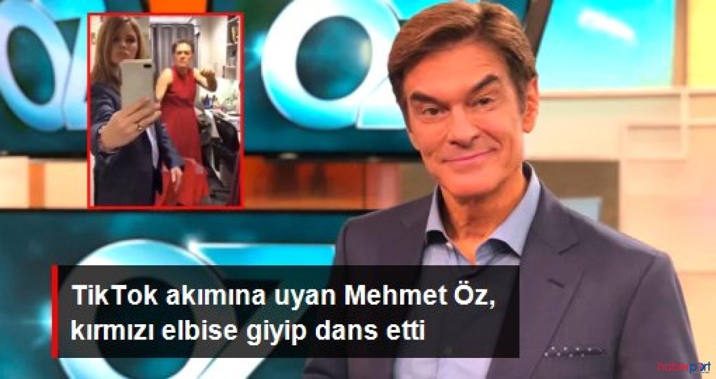 Dr. Mehmet Öz'ün kırmızı elbiseli tiktok dansı!