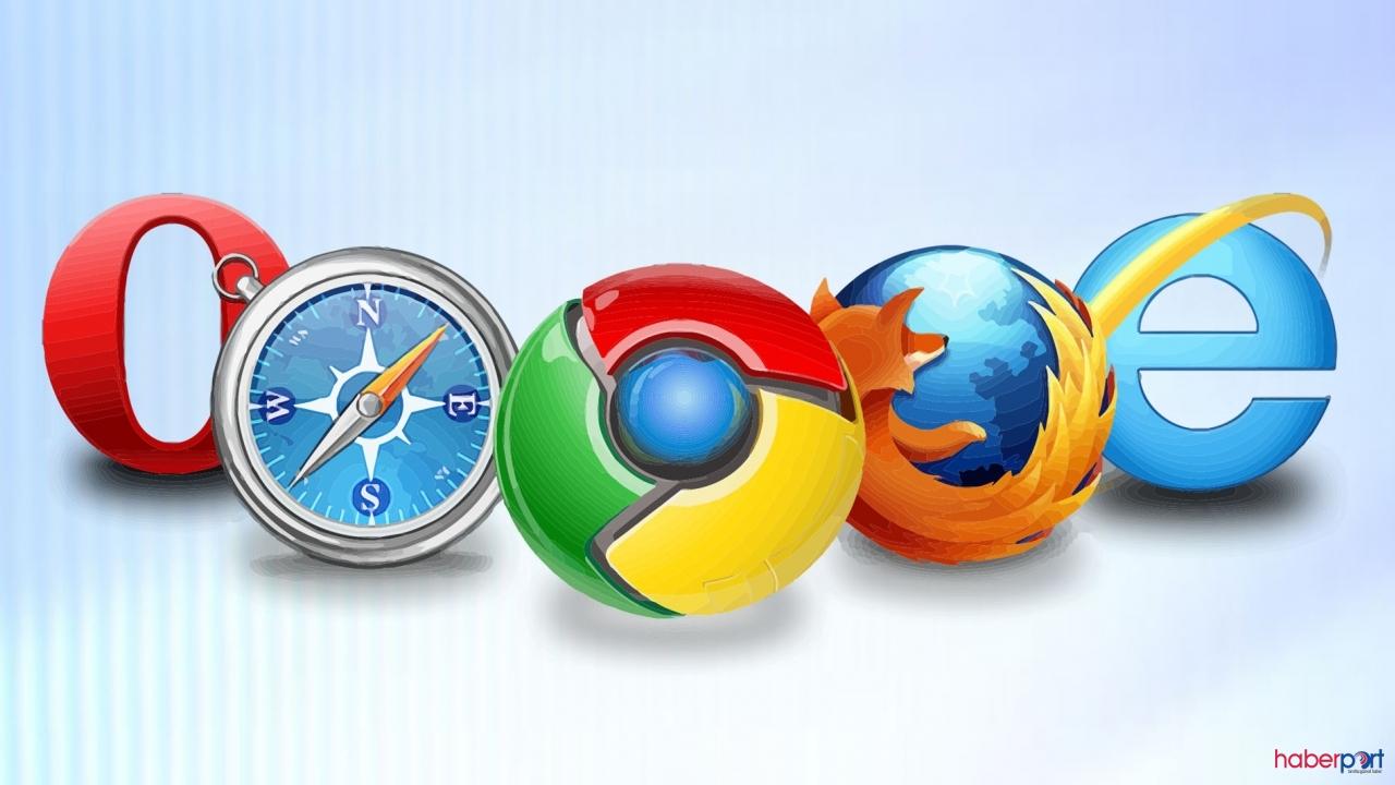 Dünya'da en çok kullanılan Web tarayıcıları hangisi?