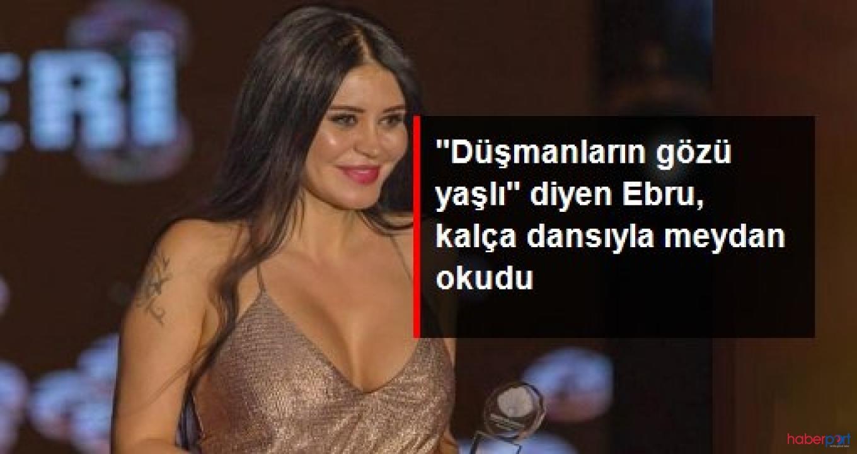 Ebru Polat'ın 'Mezdekeli' düşman çatlama dansı İnstagram'ı salladı!