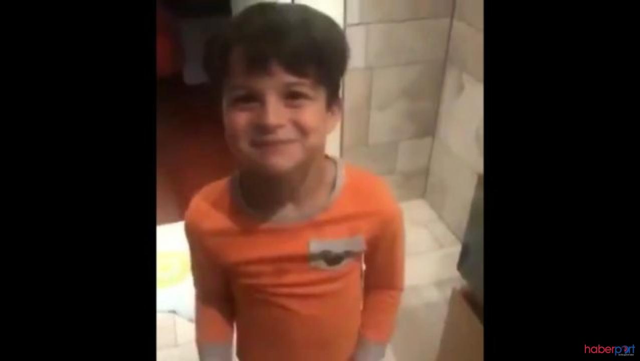 Ebru Şallı'nın vefat eden  oğlunun videosu; Ben anneme aşığım!