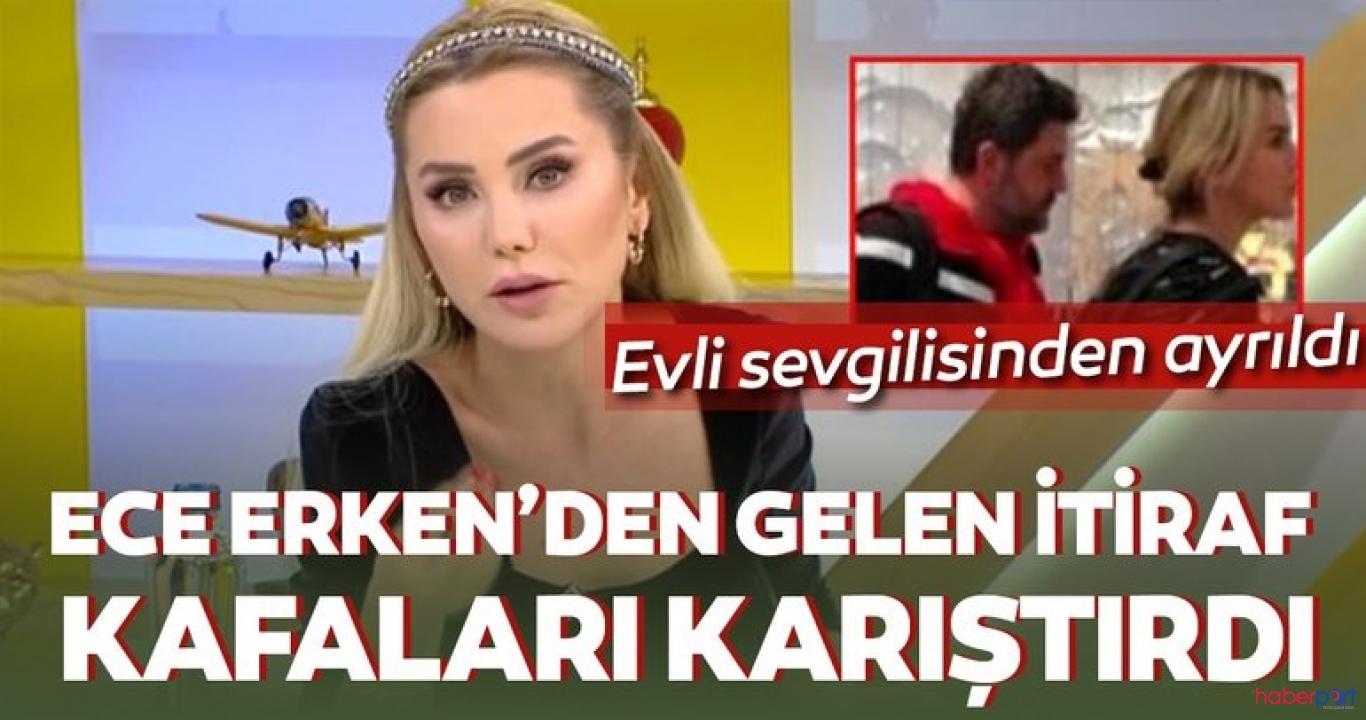 Ece Erken'den ilişkisini bitirdiği açıklamasında tehditkar sözler!