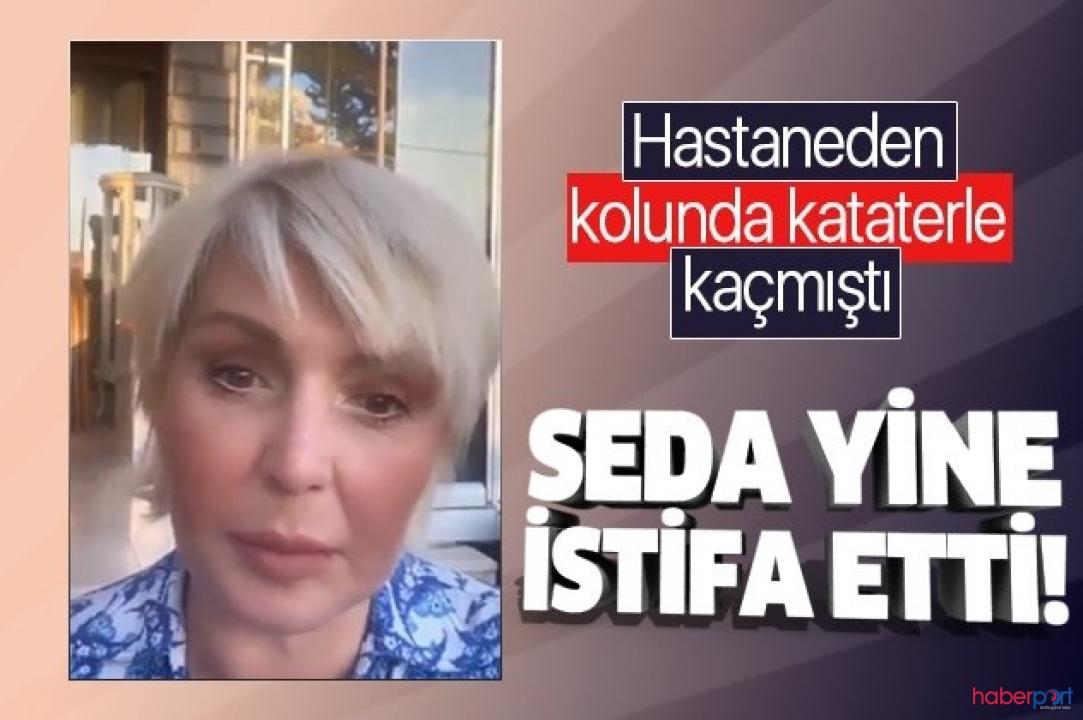 Ece Erken'in yerine başlayan Seda Akgül'ün sunuculuk macerası kısa sürdü