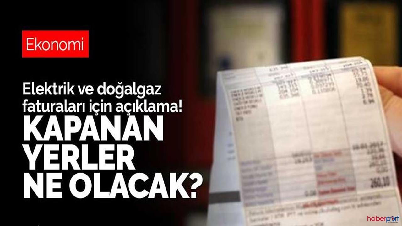 EPDK'dan kıyasen fatura açıklaması geldi! Kimse mağdur edilmeyecek