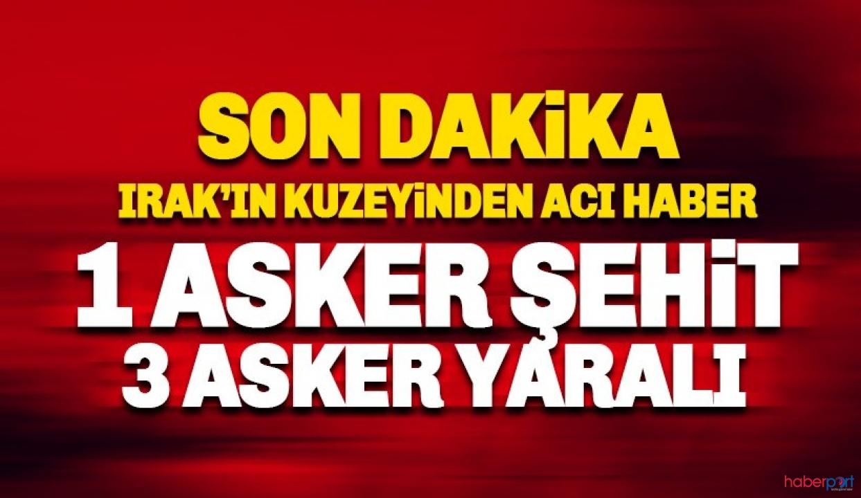 Irak'ın kuzeyinde PKK'nın havan saldırısından acı haber! 1 şehit 3 yaralı