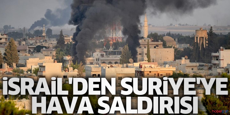 İsrail, Suriye'yi havadan vurdu! 9 rejim askeri hayatını kaybetti