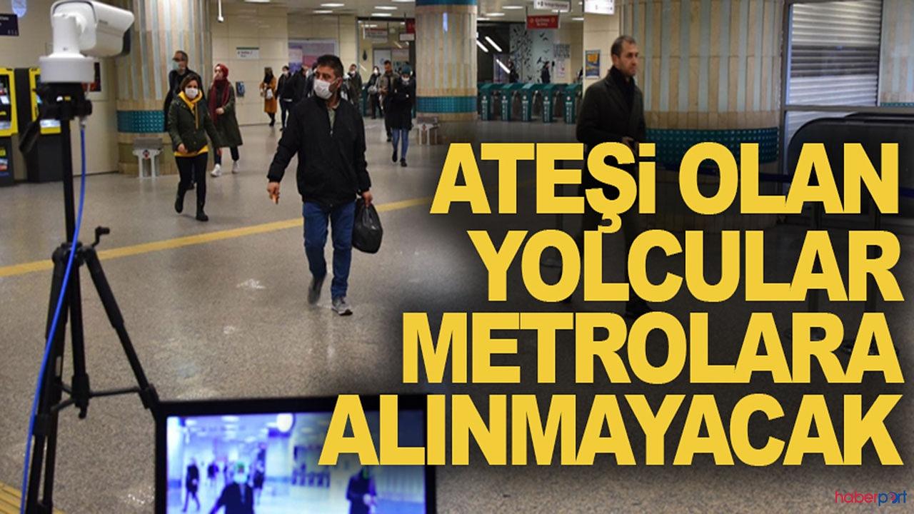İstanbul'da toplu taşımaya korona virüs ayarı! Termal kamera uygulaması getirildi