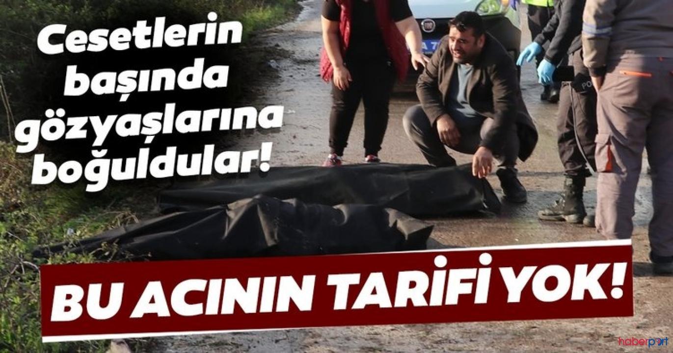 Kocaeli'de korkunç son! Elektrik direğine saplanan araçta 3 kişi öldü