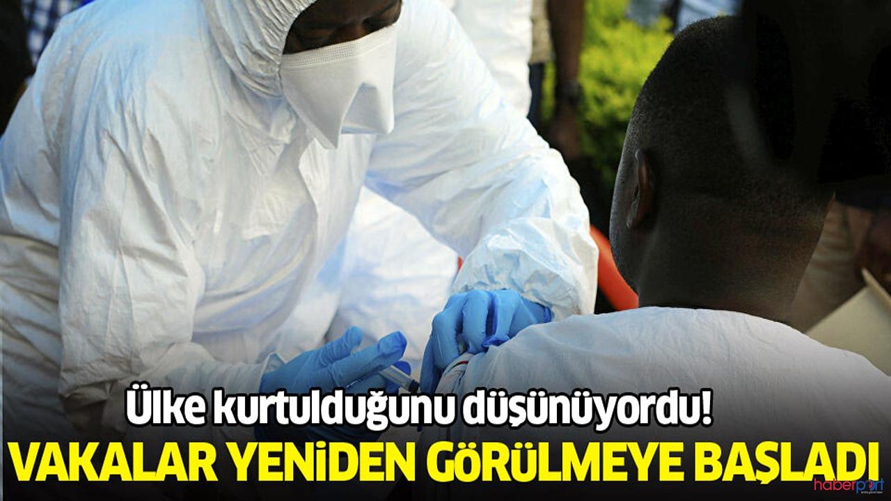 Kongo'da Ebola kabusu yeniden başladı
