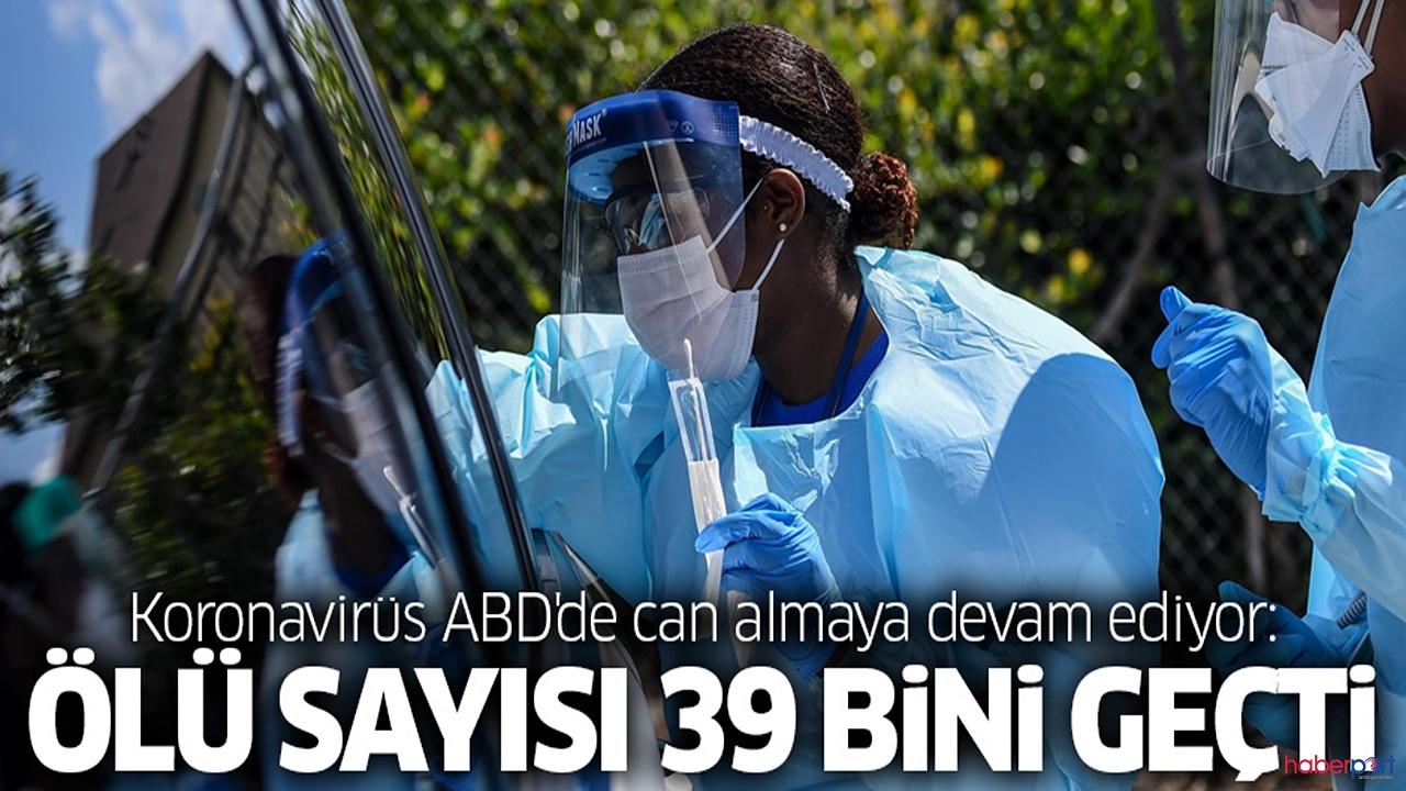 Korona virüs ABD'ye kabusu yaşatmaya devam ediyor!