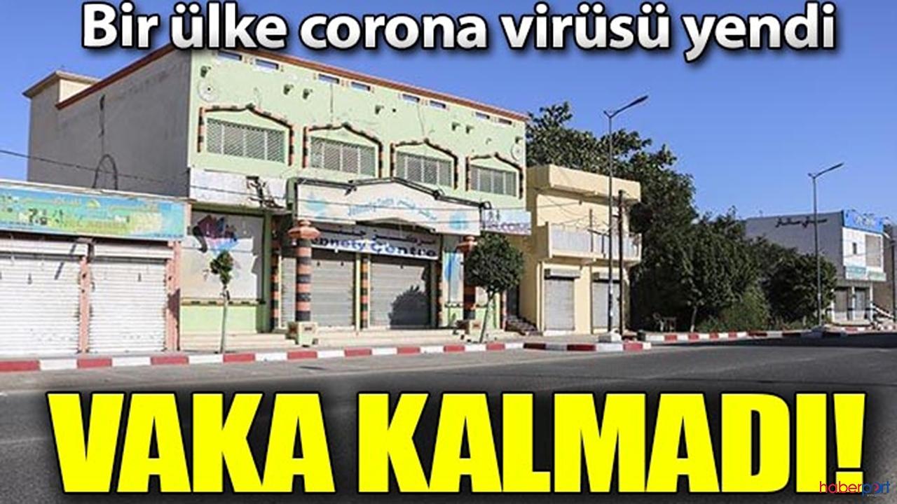 Korona virüsünü bitiren ülke Moritanya! Ülkede vaka kalmadı