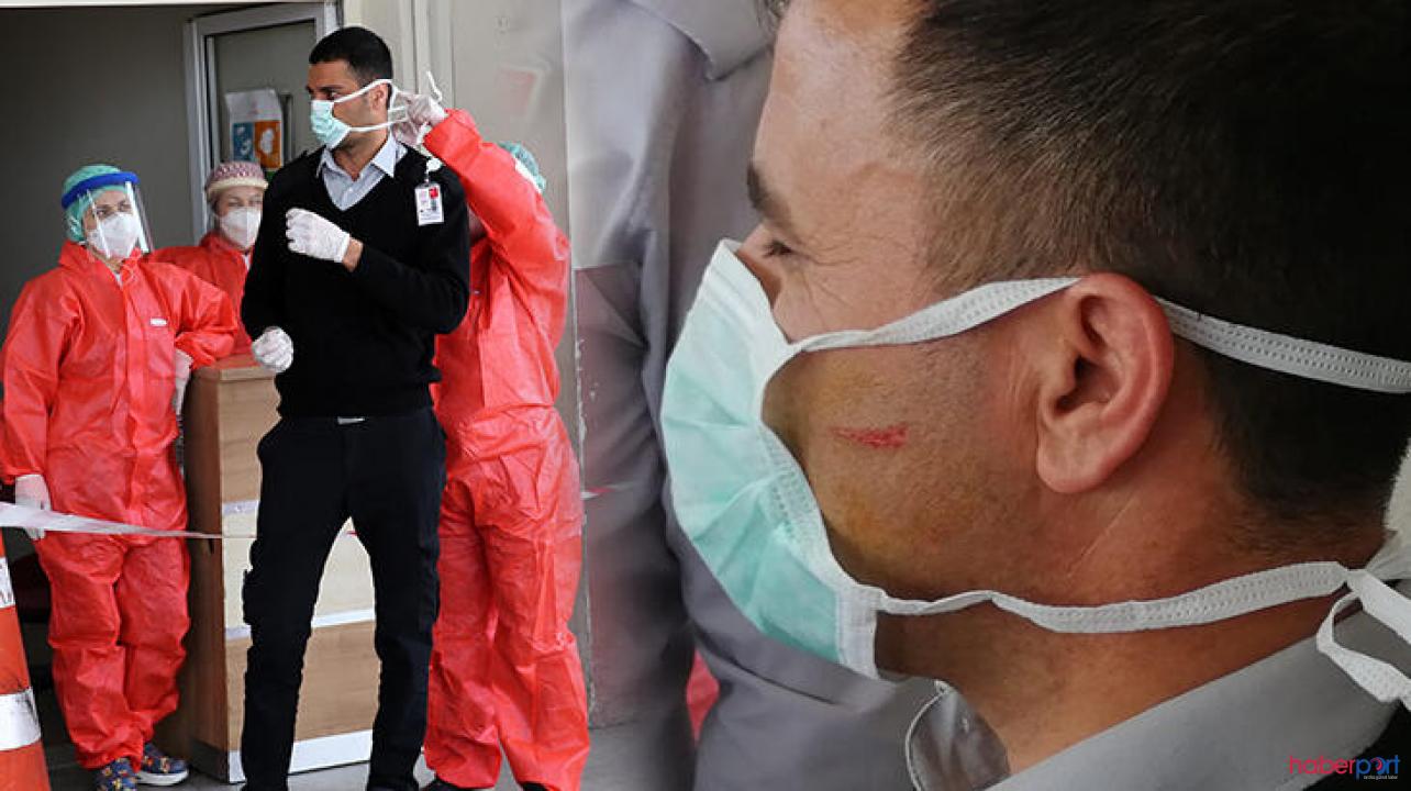 Koronavirüs test sonucunu bekleyen şahıs güvenliğe saldırdı