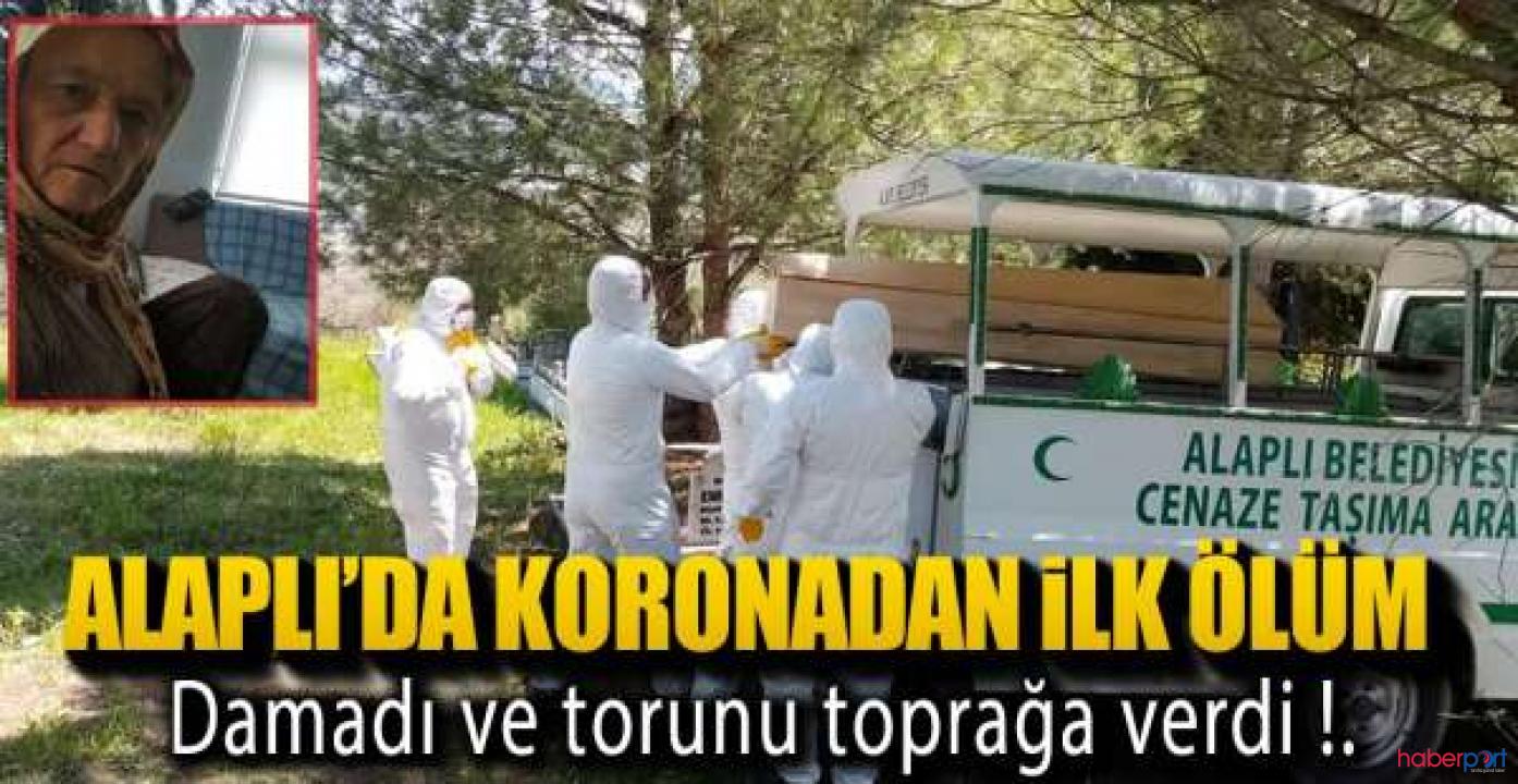 Koronavirüsünden ölen kadını görevliler gelmeyince ailesi defnett