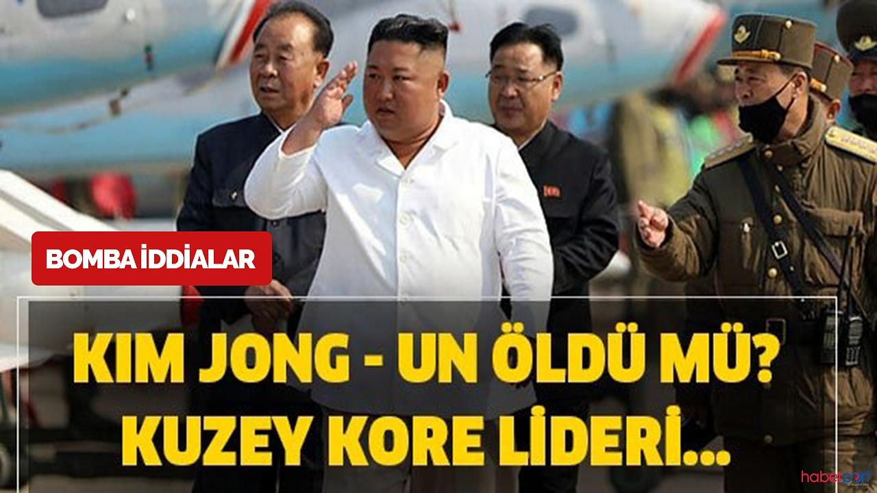 Kuzey Kore lideri Kim Jong Un yaşıyor mu? Kim Jong Un durumu nasıl ?
