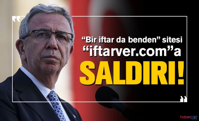 Mansur Yavaş'ın iftar kampanyasında internet sitesine siber saldırı
