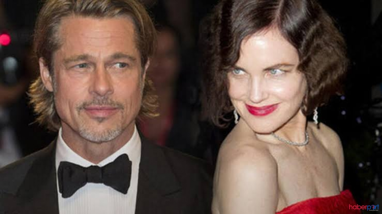 """McGovern'in şok açıklaması; """"Brad Pitt'e öpüşmeyi para karşılığında ben öğrettim"""""""