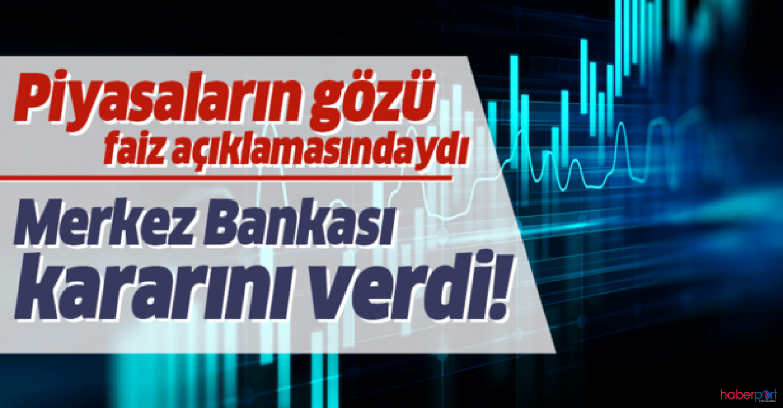Merkez Bankasından faiz kararı! 100 baz puan indirildi